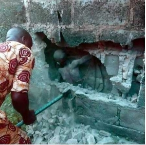 Neighbours Recount Baffling Experience on Boy Found in Between Wall in Ondo